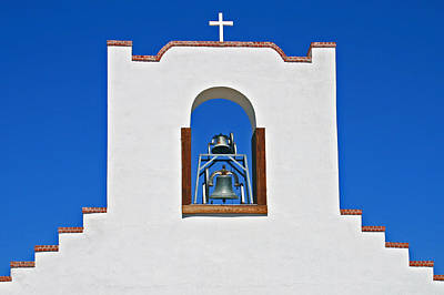 Poster featuring the photograph Socorro Mission La Purisma by Kathleen Scanlan