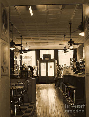 Soda Fountain And General Store Poster
