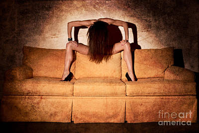 Sofa Art Poster by Jt PhotoDesign