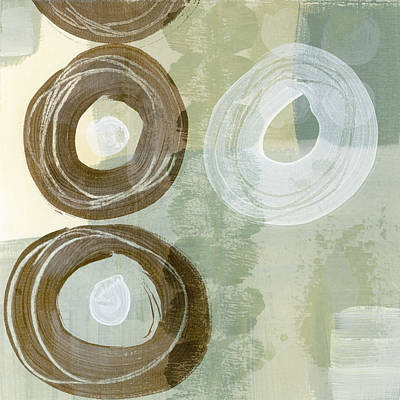 Softly Green Poster by Carol Leigh