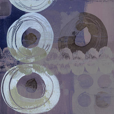 Softly Purple Poster by Carol Leigh