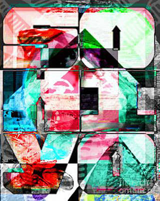 Sohiyo Illumaniti Inverted Poster by Andrew Kaupe