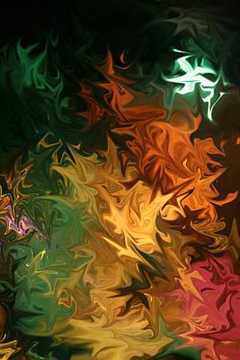 Poster featuring the digital art Soild Water 1 by Joel Loftus