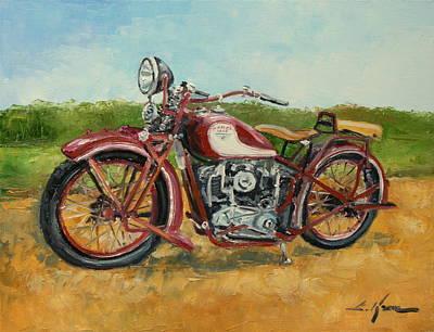 Sokol 1000 - Polish Motorcycle Poster