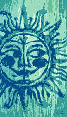 Sol -aqua Poster