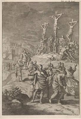 Solar Eclipse At The Death Of Christ, Jan Luyken Poster