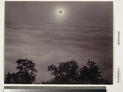 Solar Eclipse Carleton Watkins, American Poster by Litz Collection