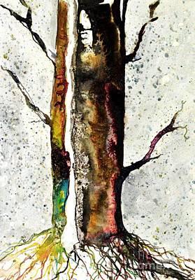 Solitary Tree IIi Poster by JM Brannigan