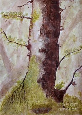Solitary Tree Poster by JM Brannigan
