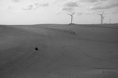 Solo Dune Buggy Poster by Bernard Jardim