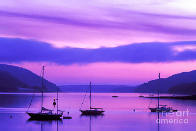 Somes Sound At Dawn Poster