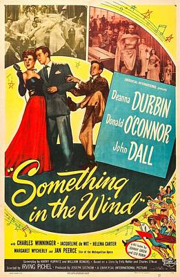 Something In The Wind, Us Poster Poster by Everett