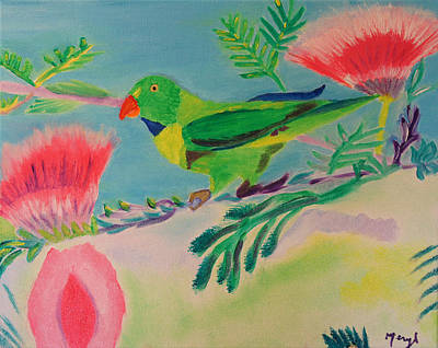 Songbird Poster by Meryl Goudey