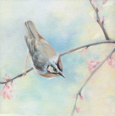Poster featuring the painting Songbird by Natasha Denger