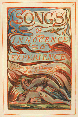 Songs Of Innocence And Experience Poster by British Library