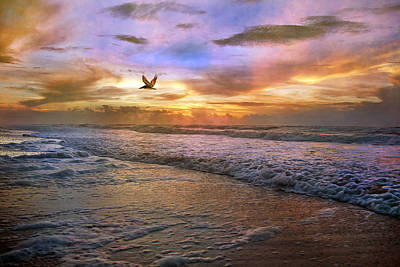 Soothing Sunrise Poster by Betsy Knapp
