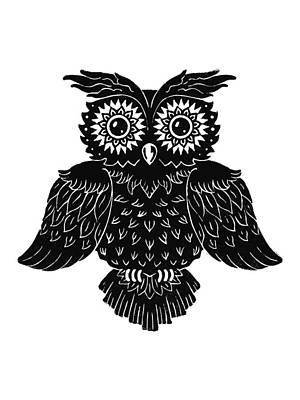 Sophisticated Owls 1 Of 4 Poster by Kyle Wood