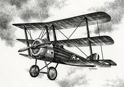 Sopwith Triplane 1917 Poster