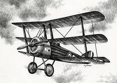 Sopwith Triplane 1917 Poster by James Williamson