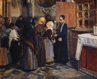 Sorolla, Joaqu�n 1863-1923. Kissing Poster by Everett