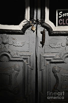 Sorry Closed Poster