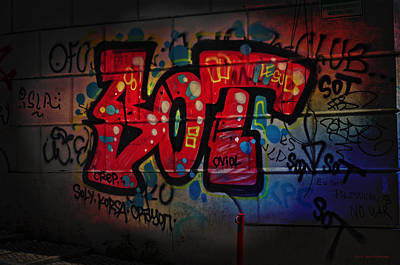 Sot Graffiti - Lisbon Poster