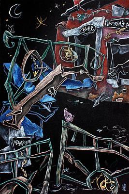 Sott'acqua - Surrealism Art Fantasy Illustration Poster
