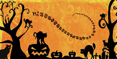 Sounds Like Halloween Iv Poster by Belinda Aldrich