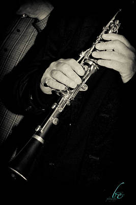Sounds Of A Clarinet Poster by Bonnes Eyes Fine Art Photography