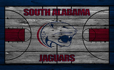 South Alabama Jaguars Poster by Joe Hamilton