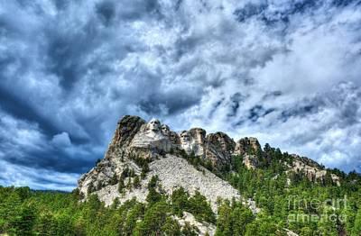 South Dakota Rocks Poster