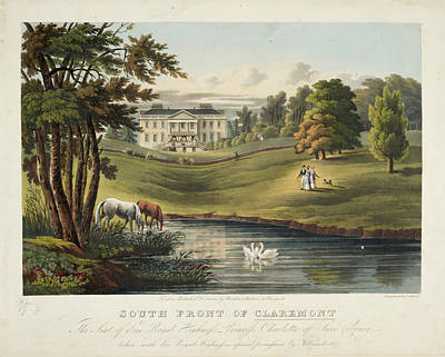 South Front Of Claremont Poster
