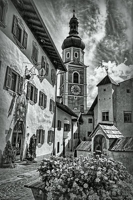South Tyrol B/w Poster by Hanny Heim