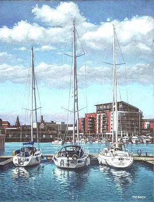 Southampton Ocean Village Marina Poster