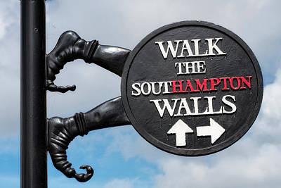 Southampton  Poster