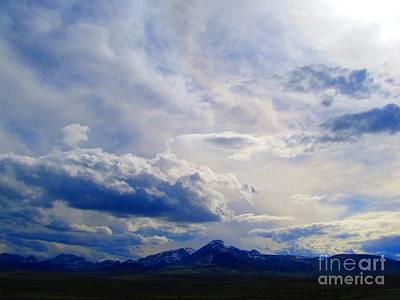 Southern Montana Mountainscape 1 Poster