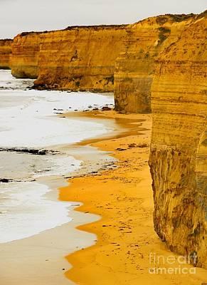 Southern Ocean Cliffs Poster