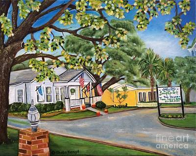 Southport Tea House Poster by Shelia Kempf