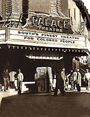 South's Finest Theater For Colored People Poster by Bill Marder