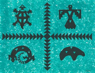 Southwest Symbols Poster