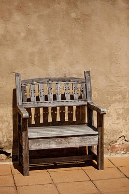 Southwestern Bench Poster by Art Block Collections