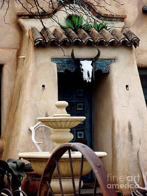 Southwestern Doorway Poster by Jayne Kerr