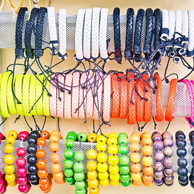 Souvenir Bracelets Poster by Tom Gowanlock