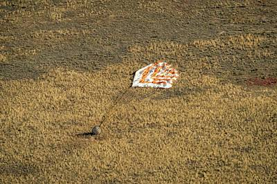 Soyuz Tma-08m Landing Poster