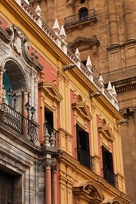 Spain, Andalucia Region, Malaga Poster by Walter Bibikow