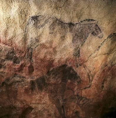 Spain. Ribadesella. Tito Bustillo Cave Poster by Everett