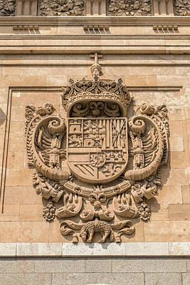 Spain, Salamanca, Relief Sculpture Poster by Jim Engelbrecht