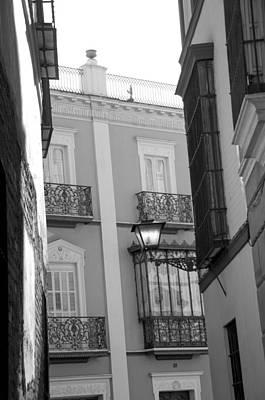 Spanish Architecture. Poster