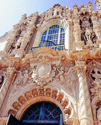 Spanish Architecture - California Poster