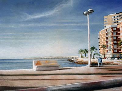 Spanish Coast Poster